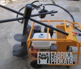 Аренда реверсивного ручного гидравлического ямобура с бензиновым приводом для двух операторов Инстар ЭГБ 9999 - 1