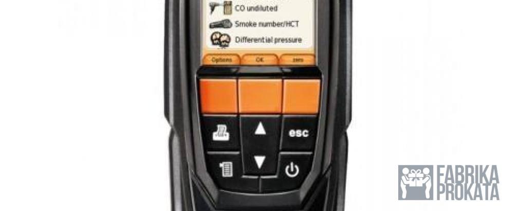 Сдам в аренду комплект testo 320 с H2-компенсацией + Смарт-зонд testo 510i